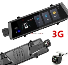 3G Android 5 0 GPS Navigators FHD 1080P Video Recorder Mirror Dashcam Rearview Mirror with DVR