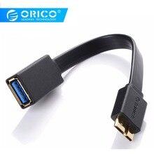ORICO usb type A к Micro USB3.0 OTG кабель OTG type-A зарядное устройство кабель для передачи данных 15 см для SAMSUNG Note3