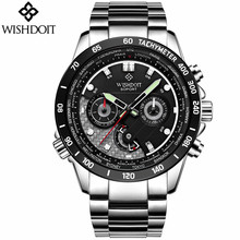 2017 Quartz Military Sport Watch Men Luxury Brand Casual Watches Men's Wristwatch army Clock full steel relogio masculino