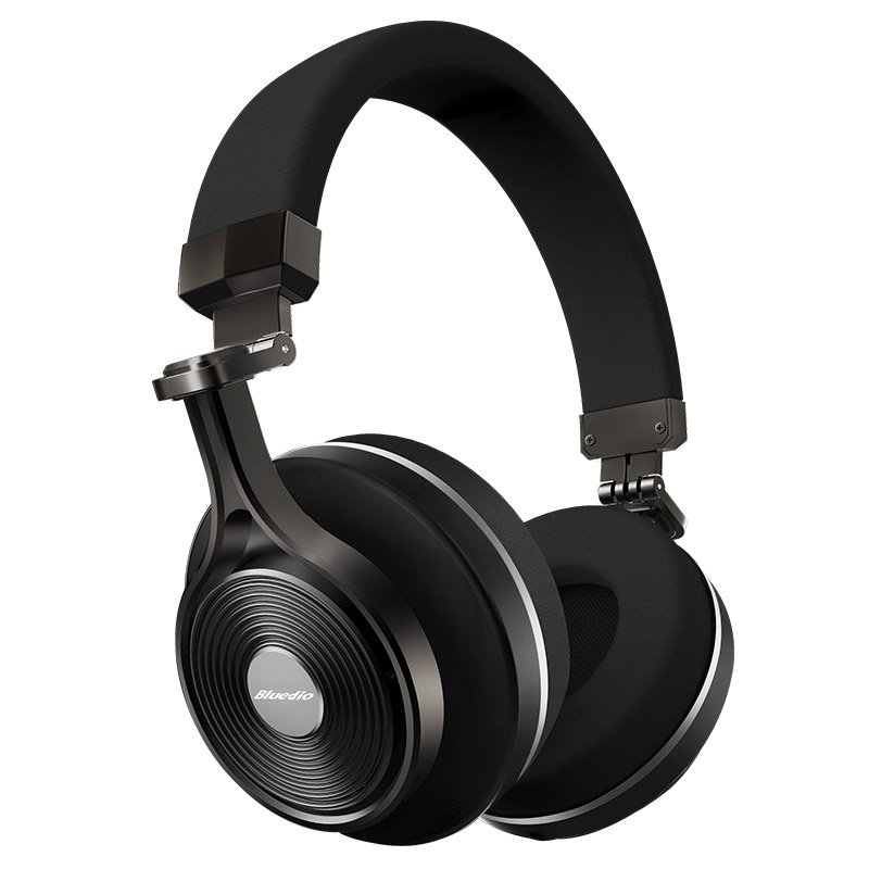 Foldable Bluedio T3 Hifi Cordless Headphones with Microphone Noise Cancelling Deep Bass Wireless Bluetooth Headset Headphone