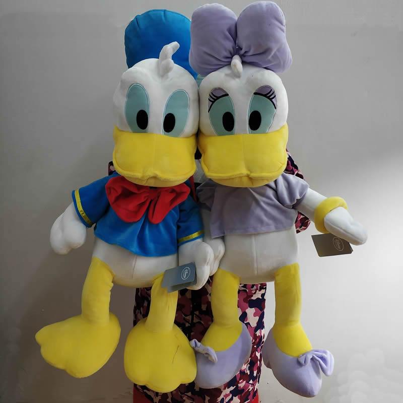 Énorme canard Donald et Daisy canard en peluche jouets en peluche 75 cm 29 ''haute qualité grand Pelucia Donald canard en peluche