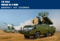 Trumpet 05597 1:35 Russian Sam 8 house Lizard Air Defense Missile Assembly Model Building Kits Toy