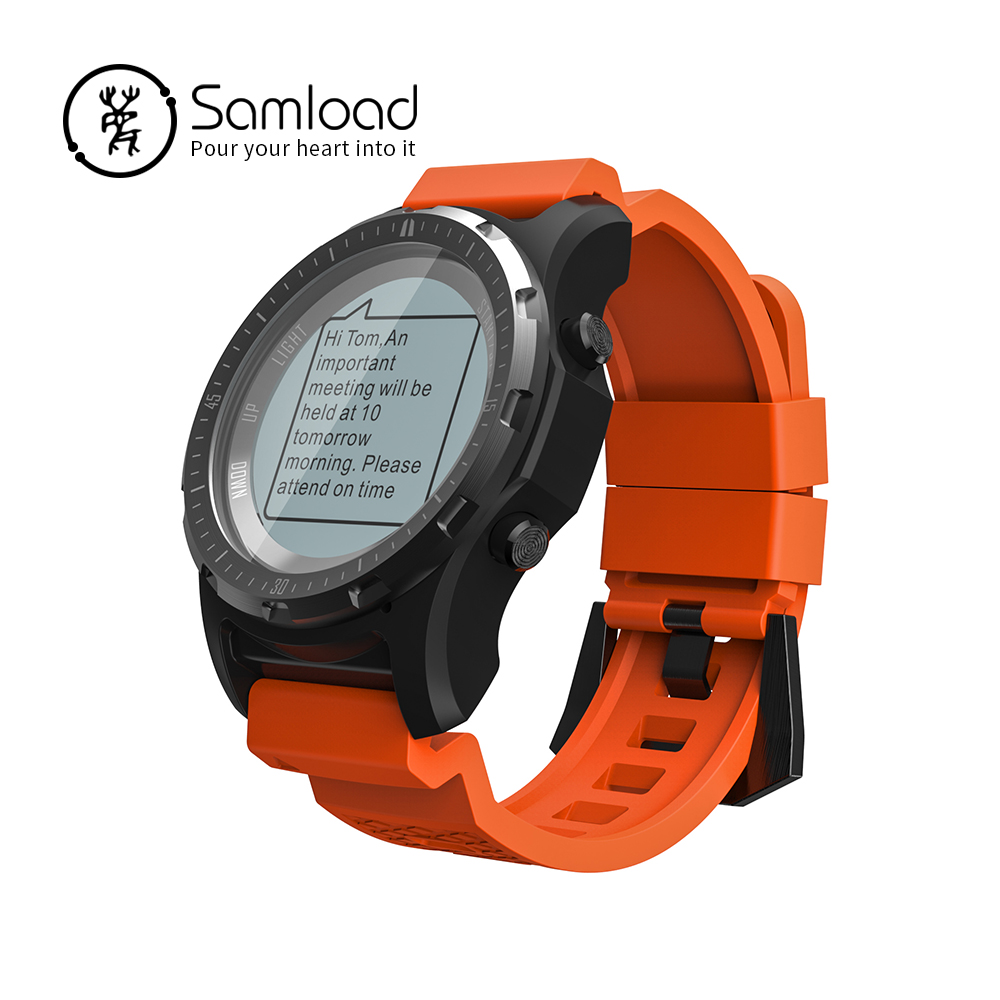 Outdoor Smart Watch IP66 Running Walk Climb Riding GPS Compass Fitness Tracker Passometer For Android Xiaomi iPhone7 8 X Clock все цены