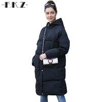 FKZ 겨울 패션 따뜻한 파카 겉옷