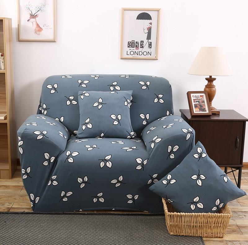 Универсальный диван крышка печати диване крышка полиэстер цветочный скамейке охватывает эластичная мебель чехлов украшения дома XD20