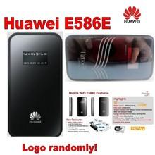 Original HUAWEI E586 Unlocked 3G 4G 21 Mbps HSPA+ wifi Mini card Wireless Modem Mobile Hotspot Router New Free shipping WCDMA