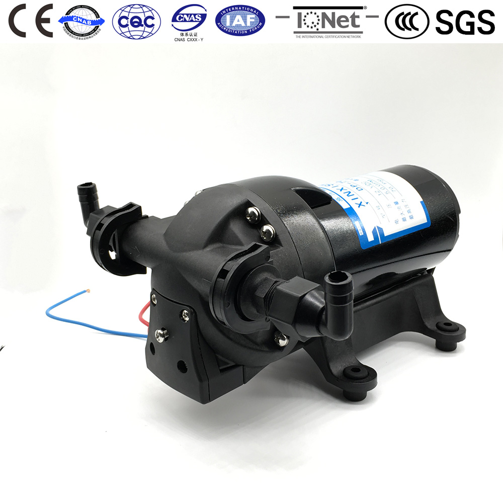 Micro Diaphragm Vacuum Water Pump DP-70 DC 24V CE Certificate Large Flow Use for Car Flushing RO System Chemical Metering