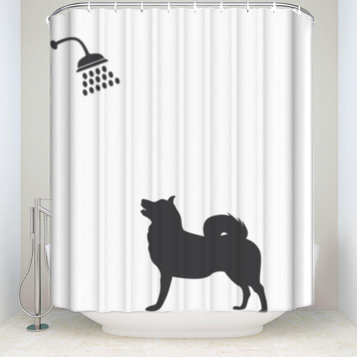 original weavestm weaves buy single waterproof ft yellow p checkered cm pvc shower curtain