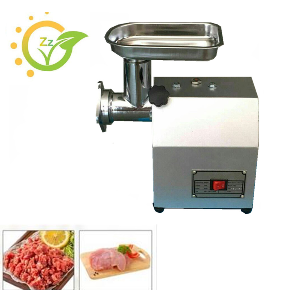 Electric Meat Grinder Home Use Small Meat Mincer Stainless Steel Kitchen Appliance for Vegetable Fish Meat