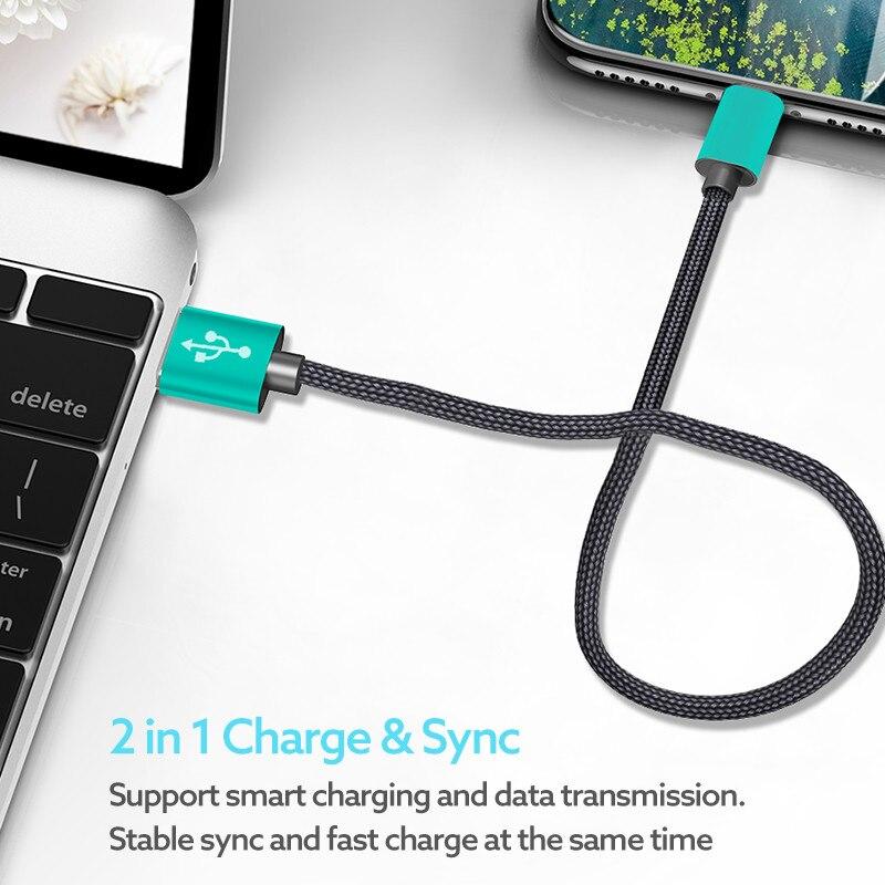 Մետաղական USB Type C մալուխ, ROCK Metal Արագ - Բջջային հեռախոսի պարագաներ և պահեստամասեր - Լուսանկար 6
