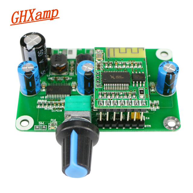 GHXAMP TPA3110 Bluetooth Amplifikatör Kurulu 30 W * 2 PBTL AMP D Sınıfı Stereo Dijital güç amplifikatörü Bluetooth 4.2 Bitmiş Kurulu 1 adet