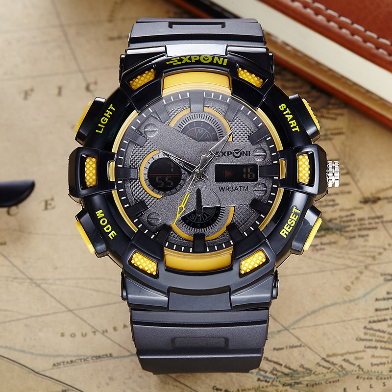 New Luxury Brand Mens Sports Watches Dive Digital LED Military Watch Men Fashion Casual Electronics Wristwatches