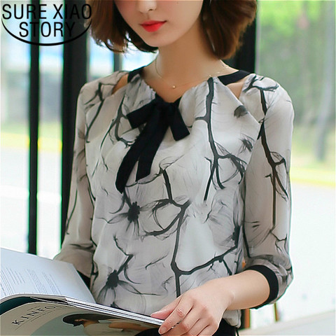 Shirts women 2019  white shirts blouse chiffon blouse plus size tops shirts ladies tops womens clothing women clothing 2705 50 Pakistan