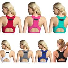Женский компрессионный спортивный бюстгальтер с карманом для телефона, бюстгальтер для йоги, спортивная одежда, эластичное нижнее белье для бега, спортивный бюстгальтер, Топ