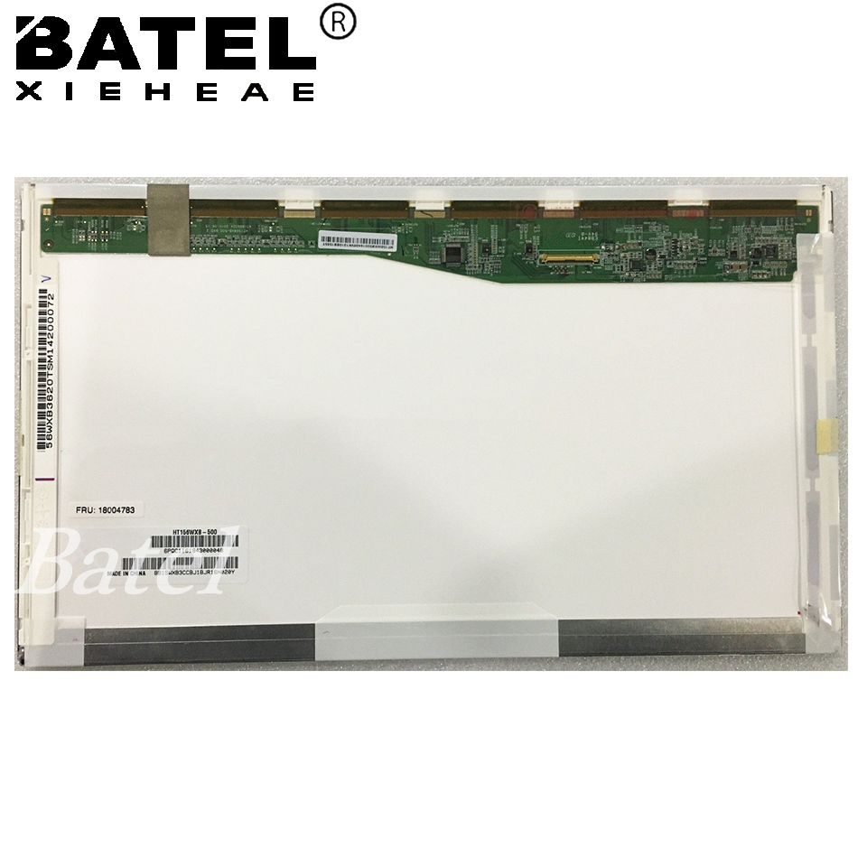 HT156WXB-502 Glare 1366*768 15.6 HD 40Pin Laptop LCD Screen Matrix for laptop 15.6 Glossy HT156WXB Replacement original new laptop led lcd screen panel touch display matrix for hp 813961 001 15 6 inch hd b156xtk01 v 0 b156xtk01 0 1366 768