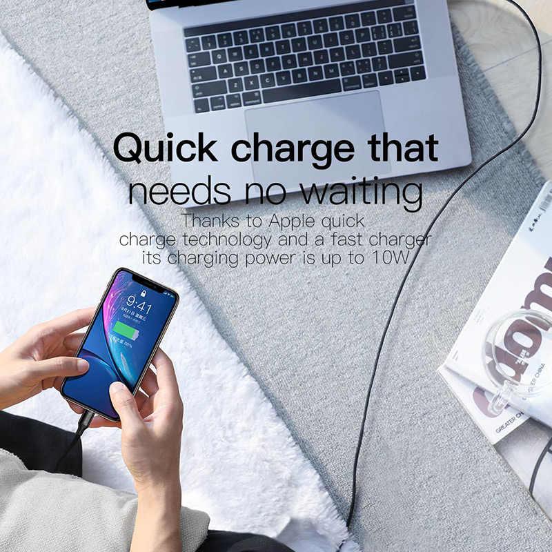 Original para usb-c A lightning cable de carga para iPhone 11 pro xs max xr 8 7 6 plus 5se apple ipad cargador rápido de cable 1m 2m