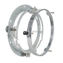 7 дюймов круглый daymaker светодиодные фары Монтажный кронштейн кольцо для 07-16 Wrangler JK мотоцикла harley