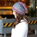 Горячие Продажи Случайные Четыре Сезона Корея Стиль Шляпы Женской Моды хлопок Hat Вязание Куча Набор Головкой Теплый Открытый Спорт Партия