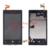 Display lcd digitador da tela de toque quente para nokia lumia 520 assembléia + Moldura do Quadro LCD Substituição + Ferramentas Com Logotipo Livre grátis