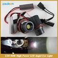 E39 90 W LED Marcador Angel Eyes de halo luz PARA X5 E39 E53 E60 E63 E65 E66 E87 Lâmpadas de Automóveis