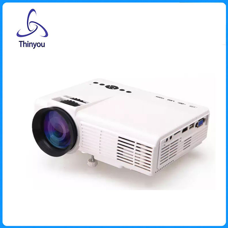 ФОТО Thinyou mini Projector 800 Lumens Home Theater For Video Games Movie HDMI AV Portable proyector projecteur full hd cl720d