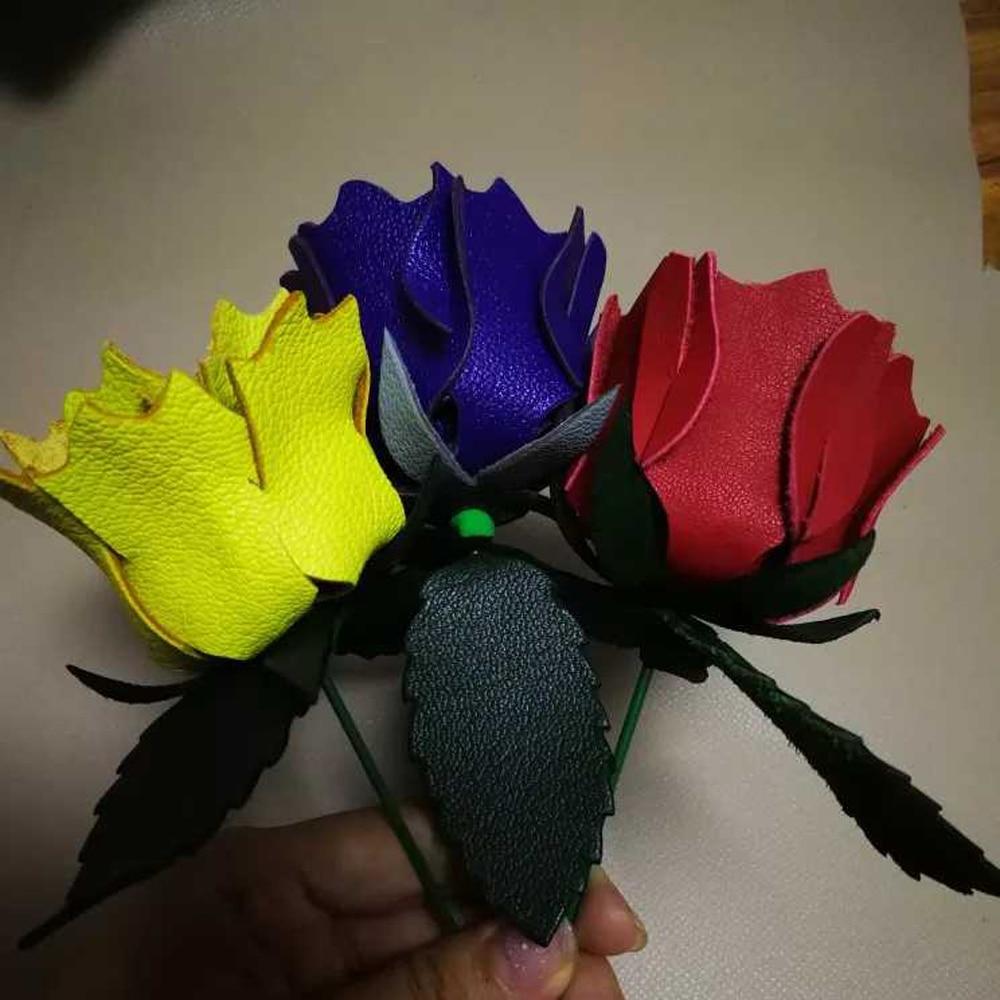 DIY leather craft flower set die cutting knife mold hand machine punch tool 7pcs/set