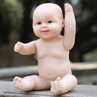 Darmowa Dostawa! 50 CM symulacja baby odrodzenia dolls miękkie Ruanjiao/wanienka piękne dzieci wczesna edukacja zabawki manekin B267