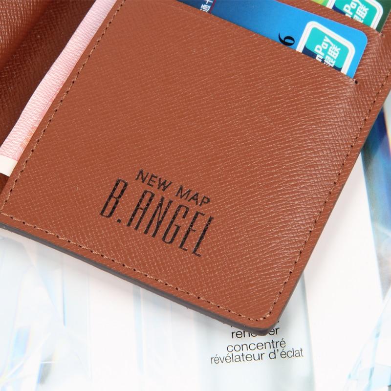 New Fashion World Map Plånbok Women Purse Brand Wallet Men - Plånböcker - Foto 5