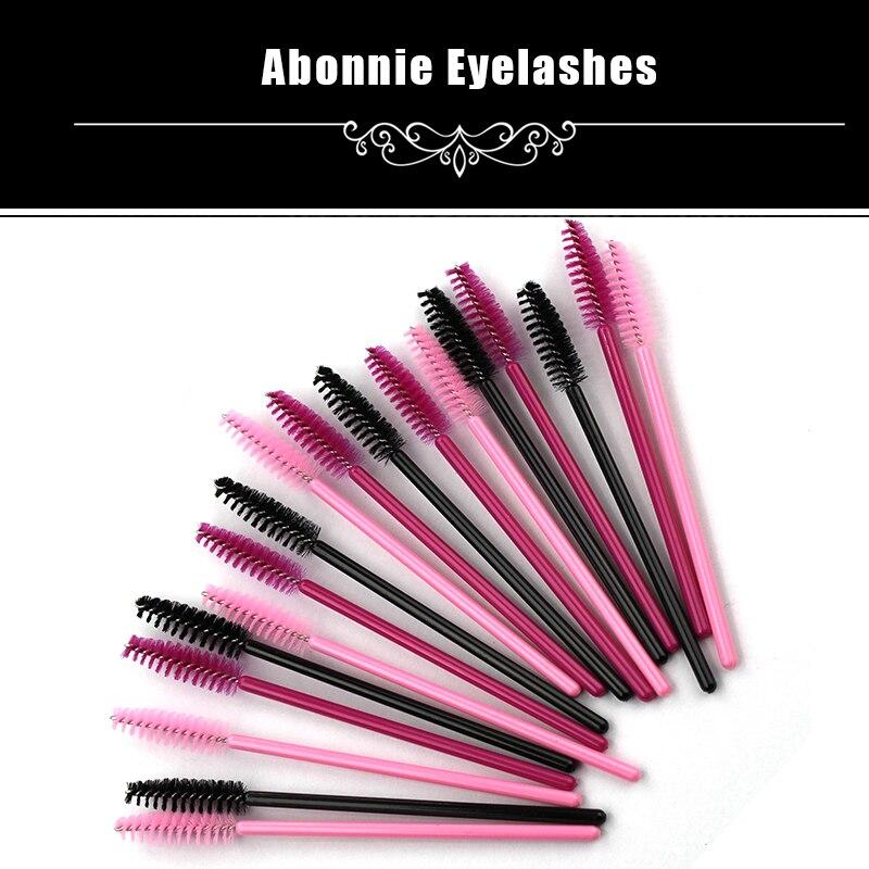 50pcs pack disposable eyelash brush mascara wands for Disposable mascara wands