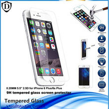 100pcs lot 0 20mm 2 5D 9H Cover Tempered Glass For iPhone 6 6s 4 7