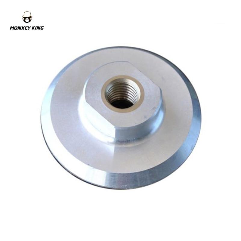 Aluminum Backer Pad Holder  For Diamond Polishing Pads M10 M14 M16 5/8-11 Thread 80mm 100mm 125mm  150mm 180mm