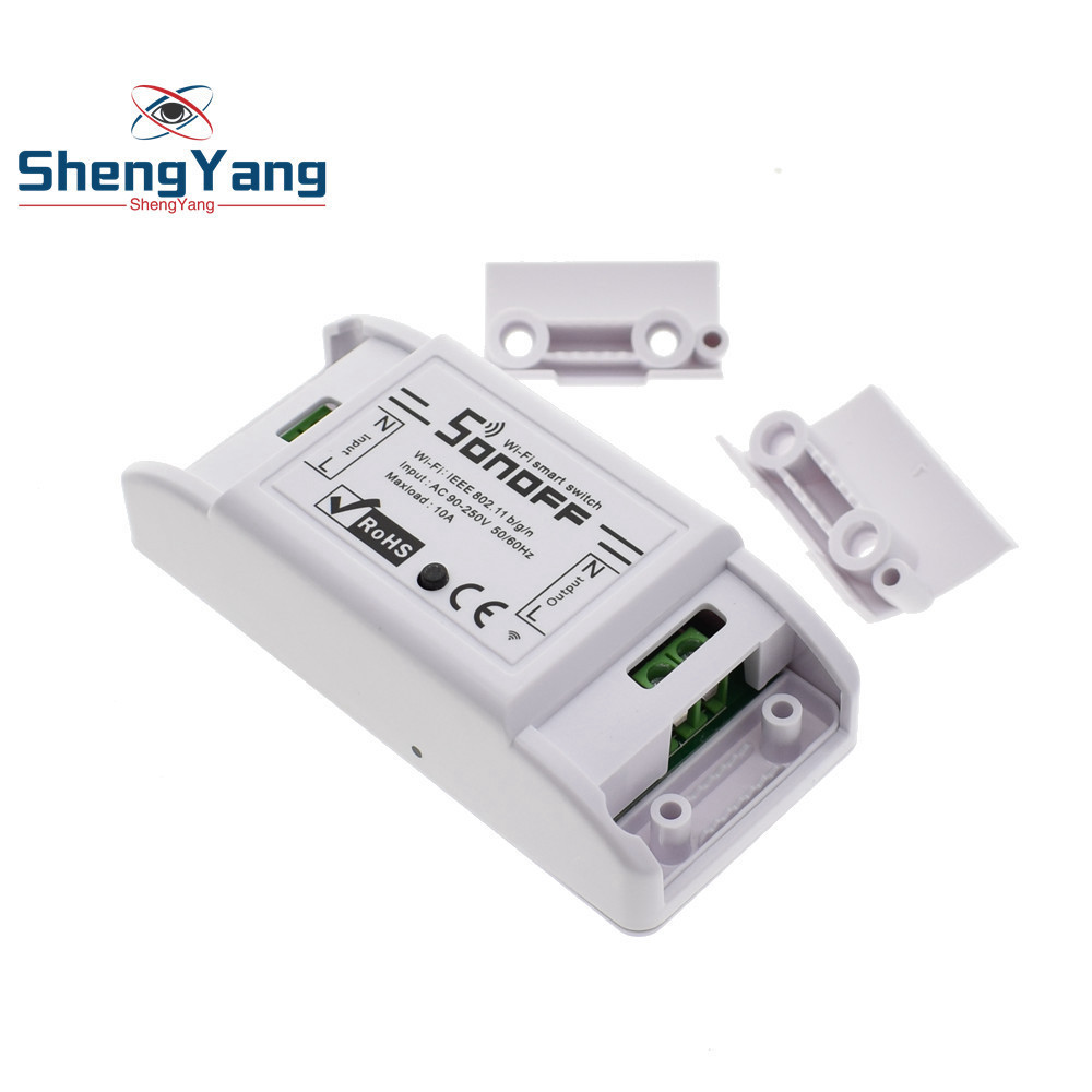 Image 5 - Itead Sonoff Smart Wifi Switch DIY Smart Wireless Remote Switch Domotica Wifi Light Switch Smart Home Controller Work with Alexa-in Integrated Circuits from Electronic Components & Supplies
