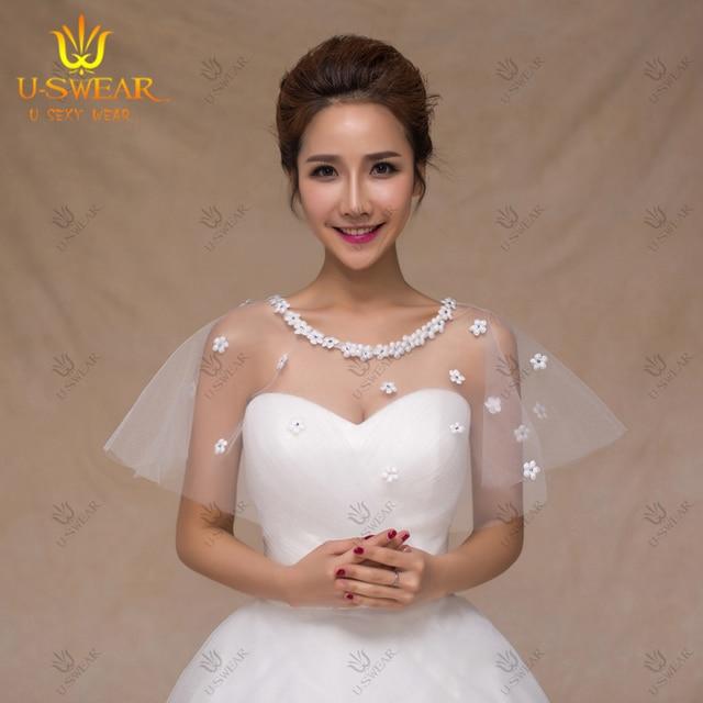 Bolero Wedding Faux Fur Bridal Cape Formal Dress Jackets Detachable Strap  Bridal Jacket Lace Wedding Lace