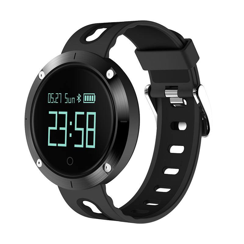 DM58 Smart Bracelet IP68 Waterproof Blood Pressure Heart Rate Monitor Call Reminder Sports Smart Band PK