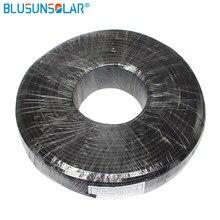 10 meter/Roll Hohe Leistung 4mm2 Solar Kabel Rot Oder Schwarz Pv Kabel Draht Kupfer Leiter VPE Jacke TÜV certifiction Solar