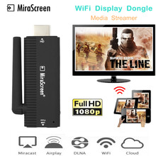 Mirascreen Wi Fi Дисплей HDMI Dongle приемник медиа стример для Google Chromecast 2 Chrome Crome литой Miracast YouTube Airplay(China)