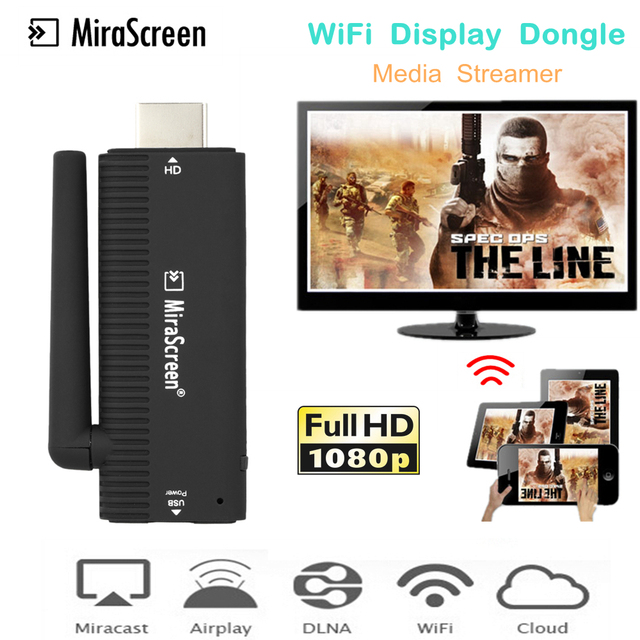 US $16 24 27% OFF|Mirascreen WiFi Display HDMI Dongle Receiver Media  Streamer for Google Chromecast 2 Chrome Crome Cast Miracast YouTube  Airplay-in TV