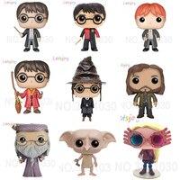 Официальный фигурка популярный виниловый волшебник Гарри Поттера, волшебник, Волшебный мир, кукла, коллекция, мультфильм, подарок для детей...