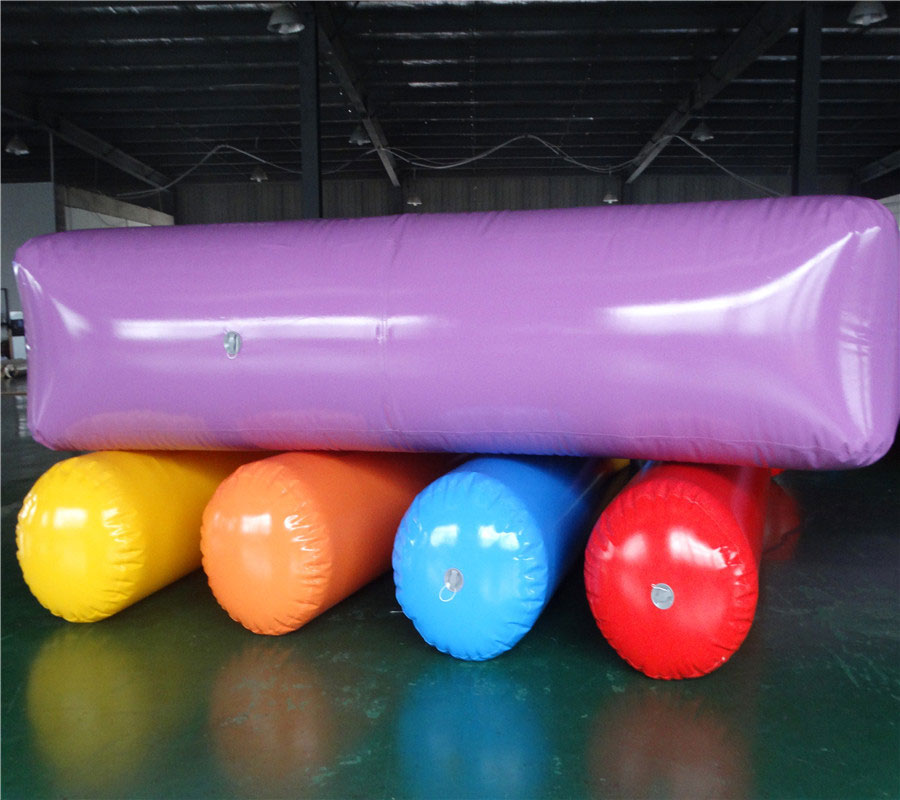 Fun Games inflatable wheels roll activity equipment