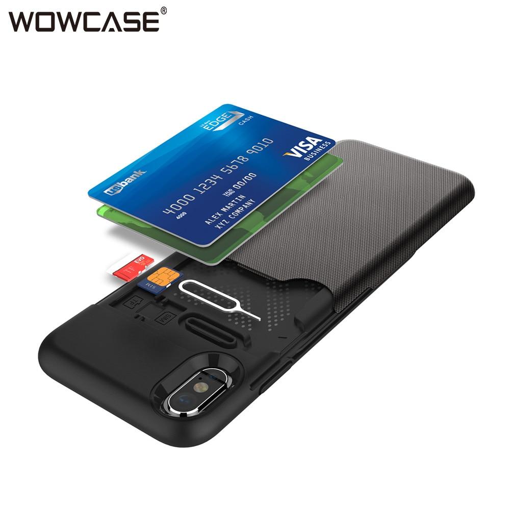XS MAX чехол для iPhone XS Бумажник Кредитная держатель для карт Гибридный Бизнес матовый чехол для телефона для iPhone XR X 10 случаях Coque 2018 принципиально