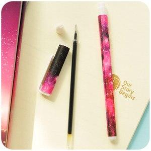 Image 3 - 36 teile/los Floral gel pen set Starry sterne blütenfarbe kugelschreiber Kawaii Schreibwaren Büro schulbedarf F244