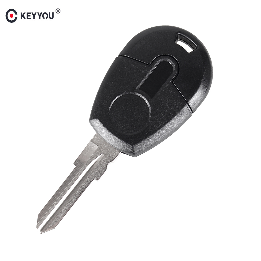 KEYYOU 15pcs/lot Replacement Remote Car Key Shell Case Cover For Fiat Transponder Key Shell Blank Case Cover GT15R blade free shipping transponder key shell for tpx gt10 blade for alfa 10 piece lot