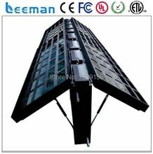Leeman на открытом воздухе двусторонняя из светодиодов / дисплей с передняя поддерживать / wifi / 3 г контроллер на открытом воздухе двусторонняя из светодиодов экраном