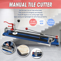1Pcs Doersupp 600mm Heavy Duty Ceramic Floor Wall Tile Hand Cutter Cutting Shaper Machine Tool Portable Cutting Machine