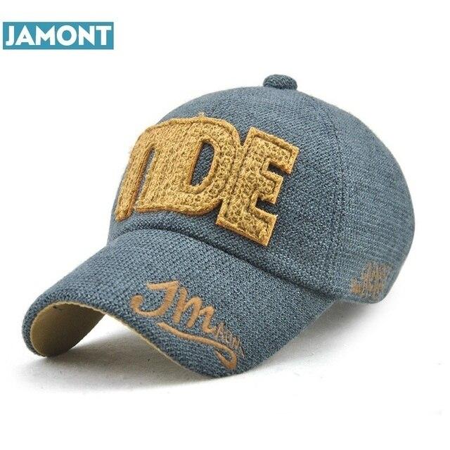 Jamont nueva moda Otoño Invierno sombrero para hombres mujeres gorra de  béisbol equipado algodón SnapBack Cap 56f8289666c