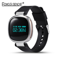 EDWO E08 Smart Wristband Bracelet Watch Heart Rate Monitor Bluetooth 4.0 Waterproof Smartband For iOS Android PK Xiaomi Mi Band