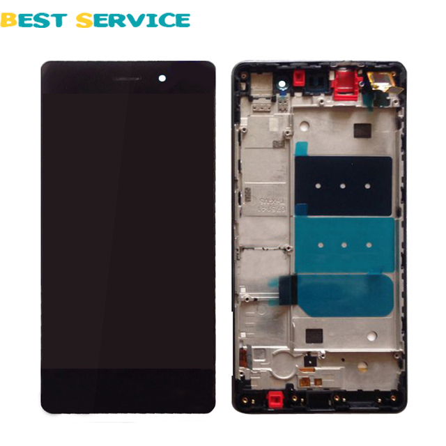 For Huawei P8 Lite LCD Display with Touch Screen Digitizer Assembly with Frame Replacement Parts +Tools Free Shipping