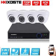 4CH 1080N HDMI DVR 720P HD outdoor Security Camera System 4 Channel CCTV Surveillance DVR Kit AHD Camera Set ahd camera system
