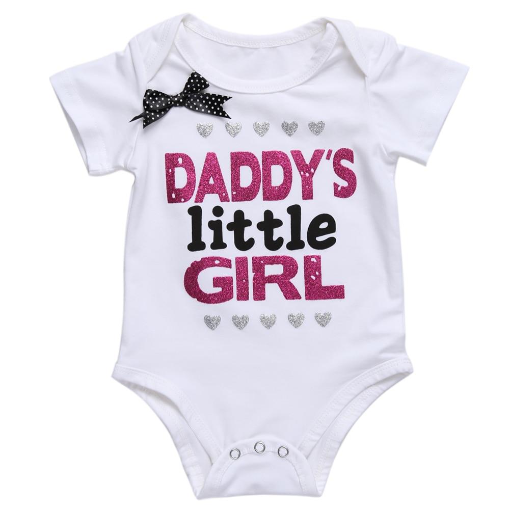 ملابس الطفل Daddy's Little Girl بشكل عام - ملابس للأطفال الرضع
