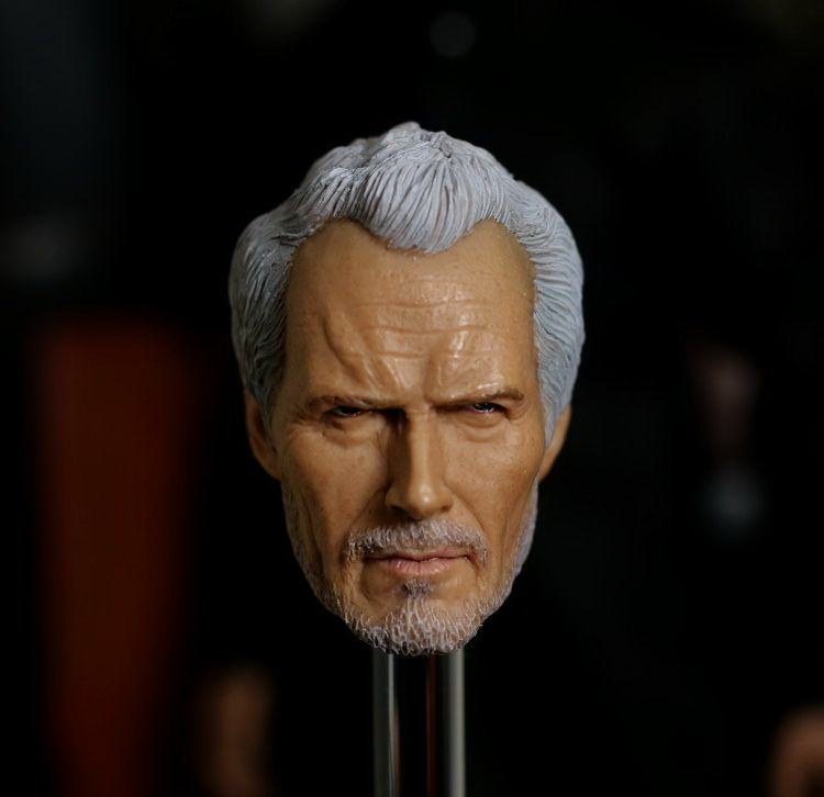1/6 Scale Male head sculpt Accessories for 12 Action figure doll Oscar director Clint Eastwood 1/6 doll head for DIY brand new 1 6 scale head sculpt world war z gerry lane brad pitt head sculpt accessories for 12 action figure model toy